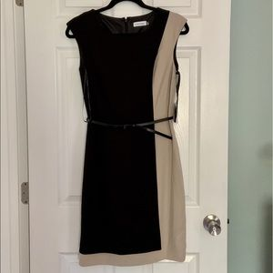 Fitted Calvin Klein dress